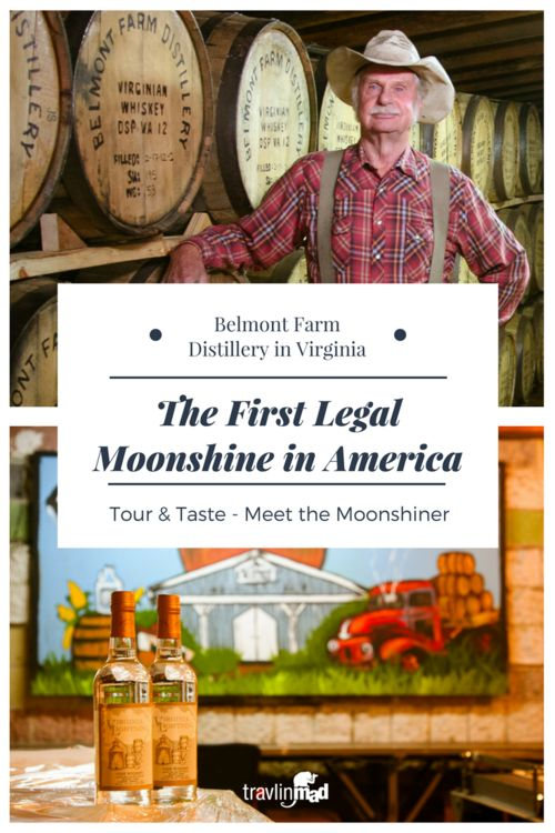 If you love craft beer, wine, or cocktails, you owe it to yourself to visit the first legal moonshine distillery in America. Belmont Farm Distillery in Culpeper, Virginia is a great place to visit and an authentic piece of old Virginia!