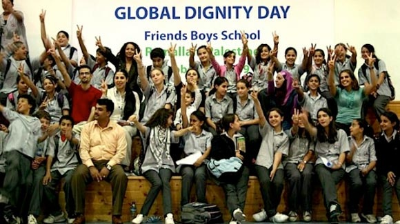GLOBAL DIGNITY DAY: INSPIRING A NEW GENERATION OF THE WORLD'S CHILDREN TO TREAT EVERYONE WITH RESPECT