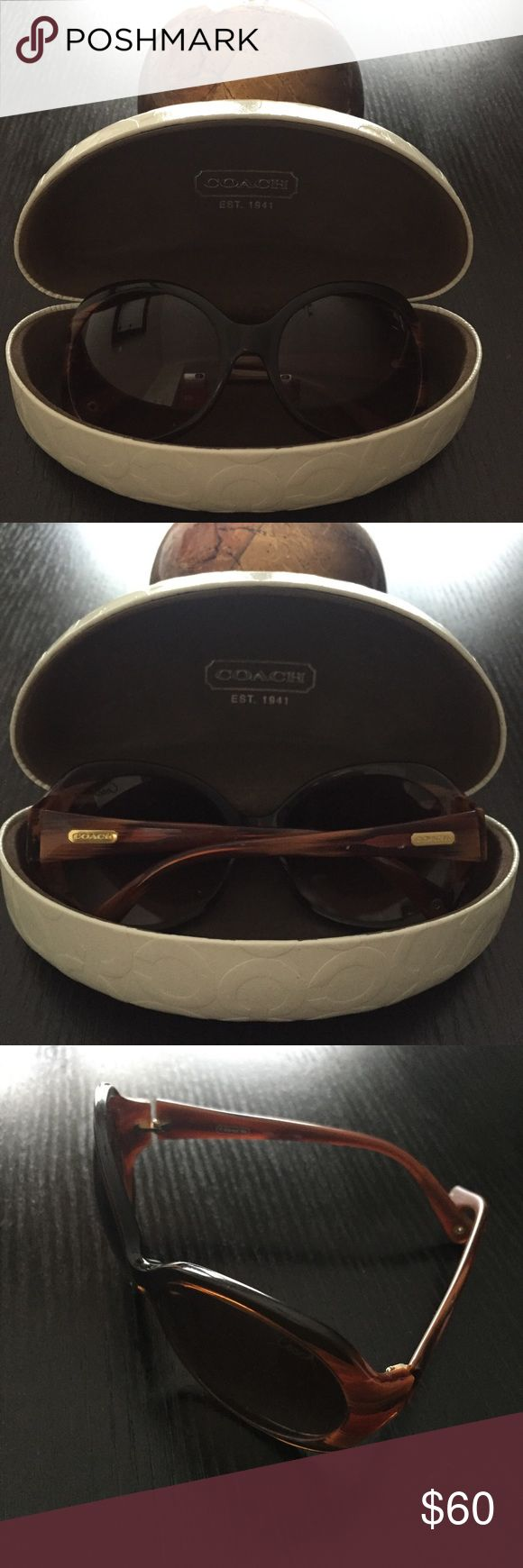Coach Sunglasses Authentic, gently worn Coach sunglasses - comes with Coach eyeglass case. Open to offers made using the offer button option. Coach Accessories Sunglasses
