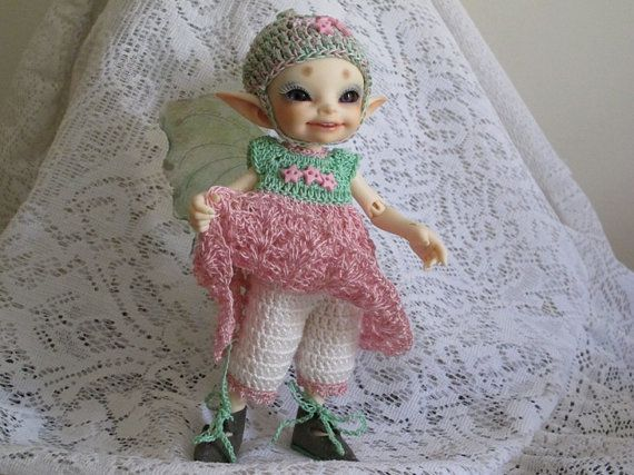 Crochet Dress bloomers and hat outfit for by panzeepotters on Etsy