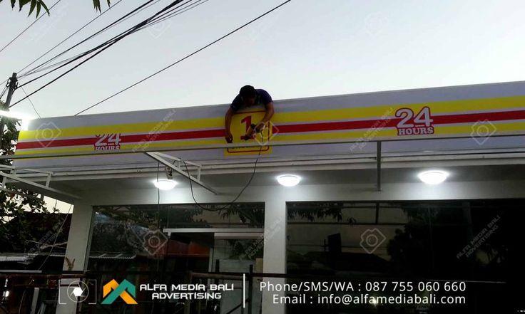 Jasa pembuatan neon box di denpasar bali | Alfa Media Bali