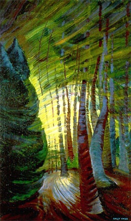 Canadian Painter Emily Carr  1938