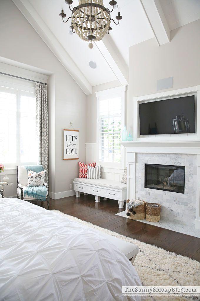 Decorated Master Bedroom 1830 best Bedroom images