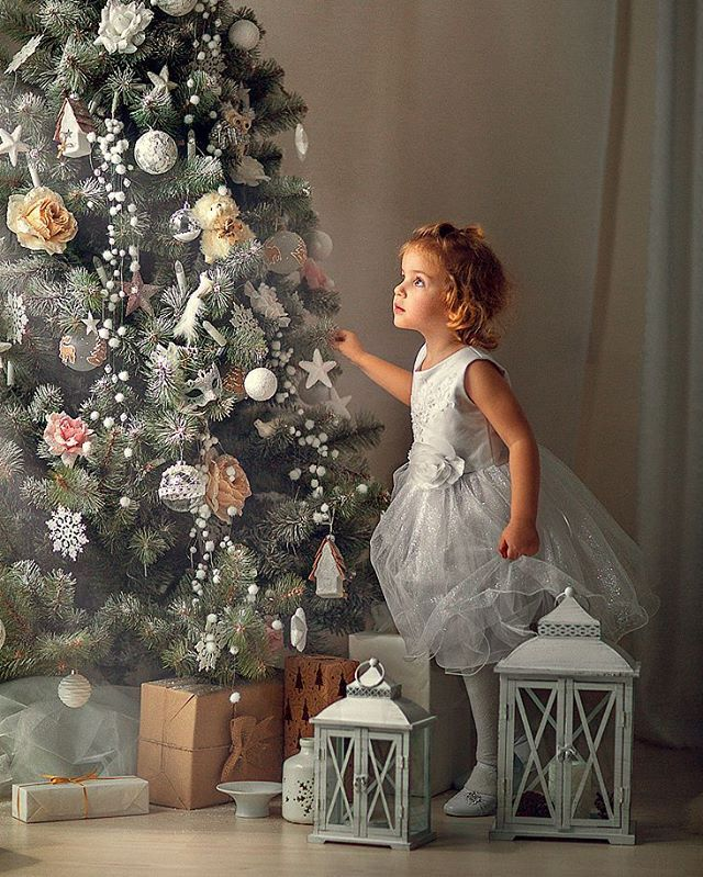 Christmas kids photography