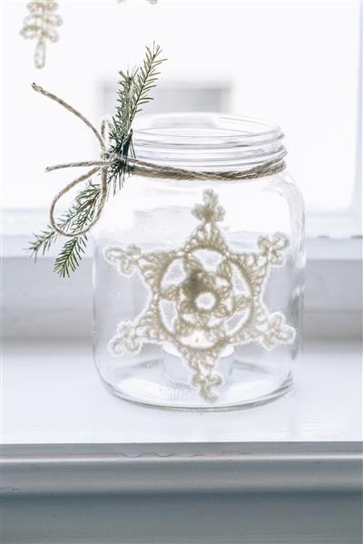 Tema 40: 19a Heklet stjerne #jul #strikk #christmas #knit
