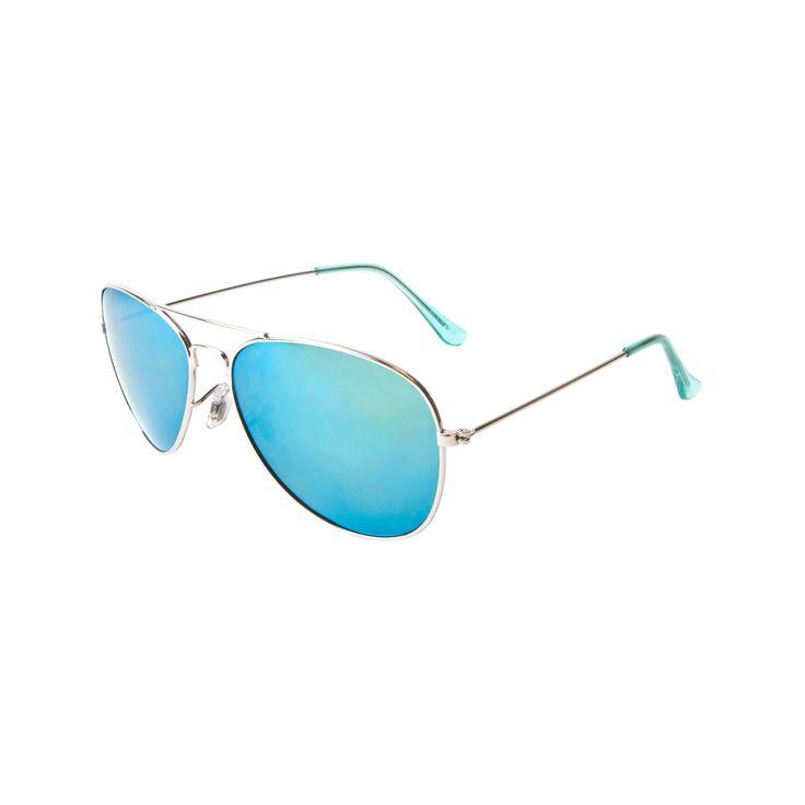 Women's Aviator Sunglasses Polarized Yellow Mirror Lens-Gold