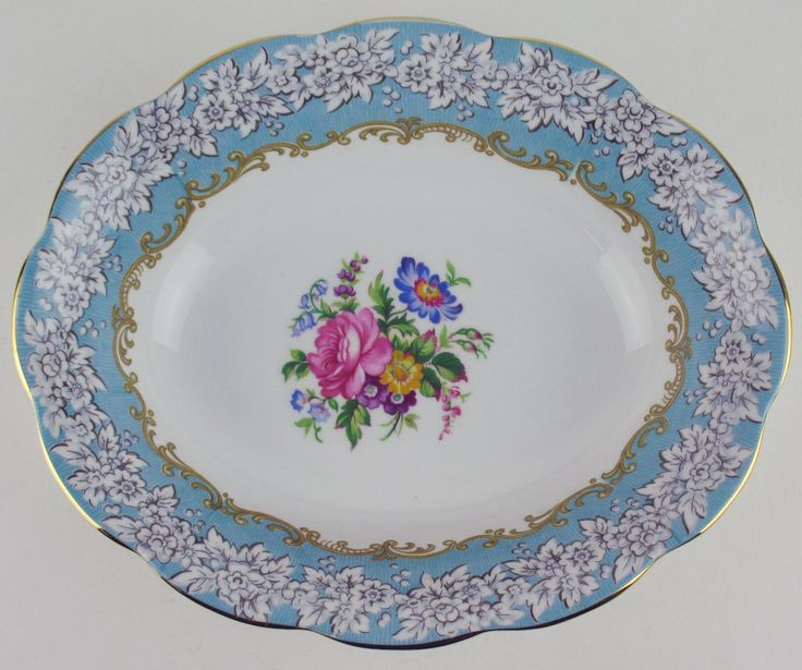Oval Serving Bowl Royal Albert Enchantment   eBay
