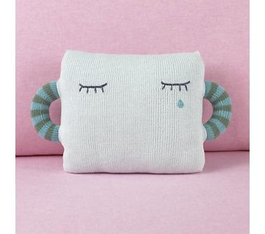 Blue Hold Me Tight Pillow