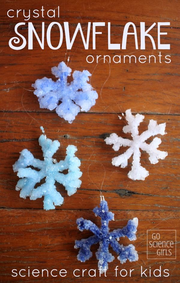 What's the best way to make Borax crystal snowflakes? We compared four techniques, making this a fun craft and classic winter science experiment for kids. They also look great as Christmas decorations!