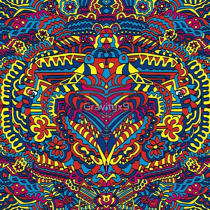 Groovy Doodle Colorful Art #S6GTP