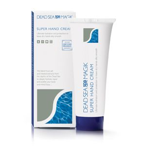 Super Hand Cream  A silky-smooth and non-greasy hand cream to effectively soften and re-hydrate dry, sore or chapped hands. Super Hand Cream helps control damp palms, by decreasing the activity of the sweat glands. Discomfort from eczema, psoriasis and dermatitis can also be reduced.