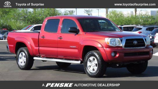 Truck, 2005 Toyota Tacoma 2WD Double Cab PreRunner with 4 Door in Surprise, AZ (85388)