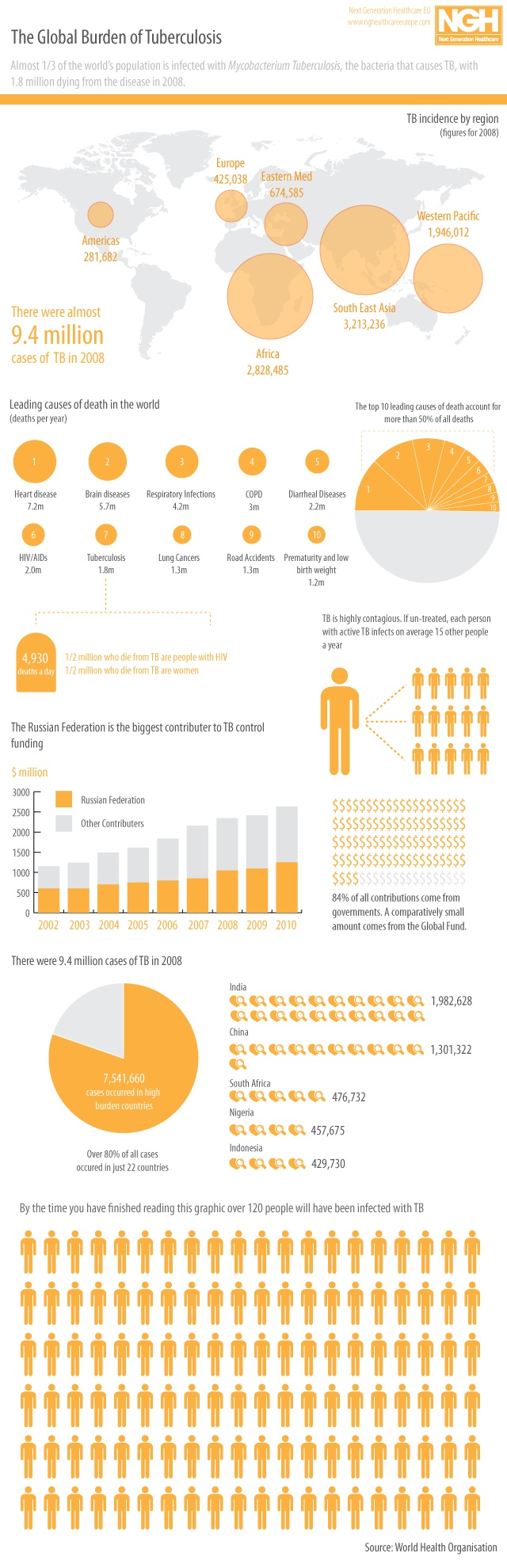 The global burden of Tuberculosis   GDS Publishing
