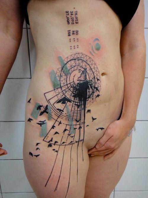 Amazing Tattoos by Xoïl