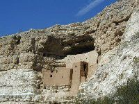 Montezuma Castle and Tuzigoot are both National Monument, just a couple of hours from Phoenix. Plan a day trip to these ancient dwellings in Arizona.