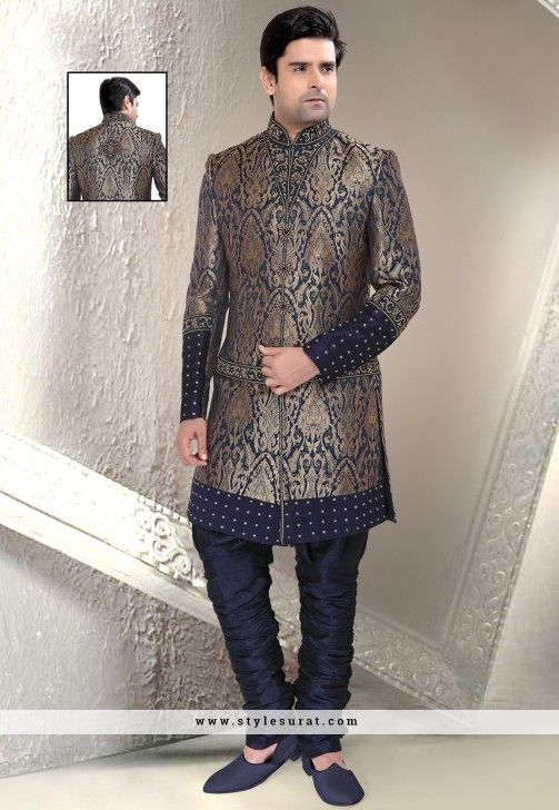 21 best Men\'s Indo Western images on Pinterest | Ethnic dress ...