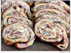 """Wenn es mal schnell gehen soll und trotzdem """"Was fürs Auge"""" gewünscht ist, dann ist dieses Rezept genau richtig. Ratz-Fatz ist der Pfannkuchen im Ofen - die Fertigstellung dauert nur wenige Minuten..."""