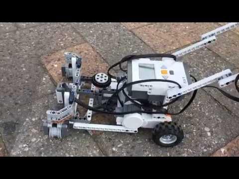 Lego Nxt Mower   grasmaaier - YouTube