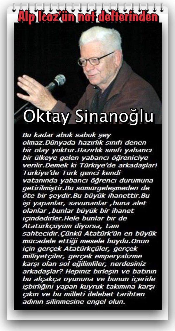 #OktaySinanoğlu #Eğitim ve #öğretim de 'hazırlık sınıfları' Alp Icoz (@AlpIcoz) | Twitter