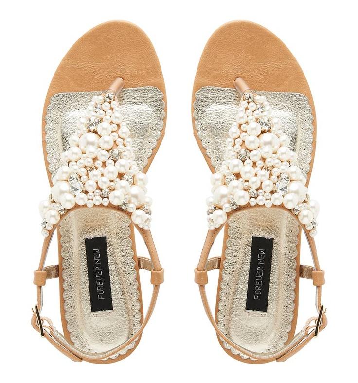 Prima Pearl Sandal - Forever New