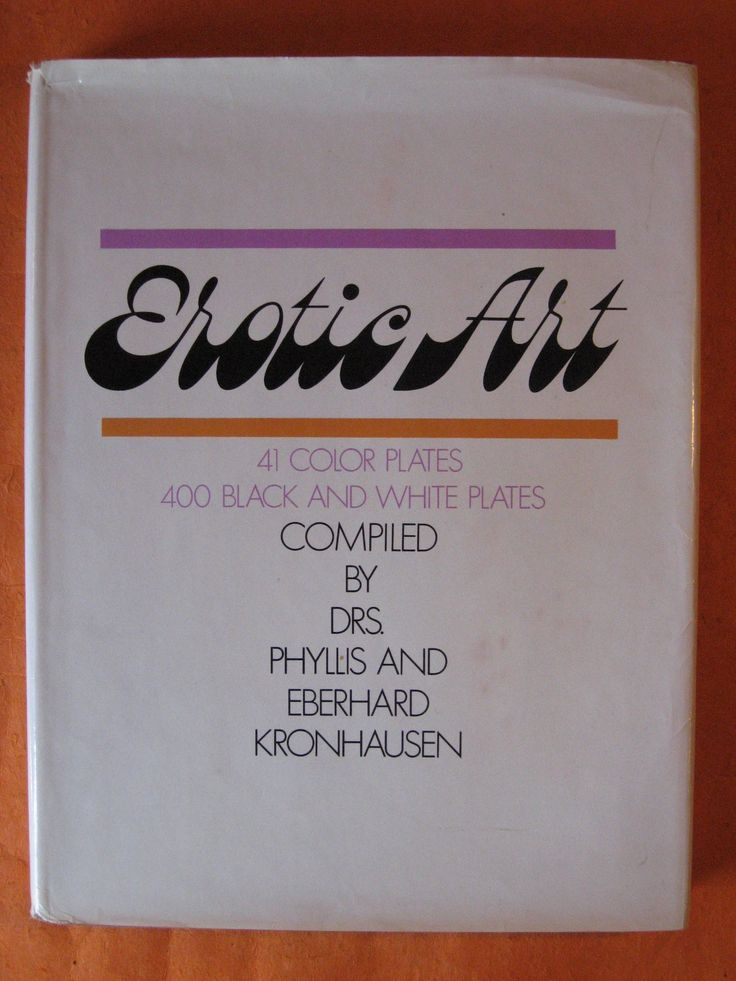 Erotic Art: A Survey of Erotic Fact and Fancy in the Fine Arts by Phyllis and Eberhard Kronhausen by Pistilbooks on Etsy