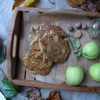 """Serving: 2  Cooking time: 15 minutes   Skill:Moderate """"The perfect Bonfire Night treat. This is the autumnal go to recipe for a sweet breakfast or a dessert,"""