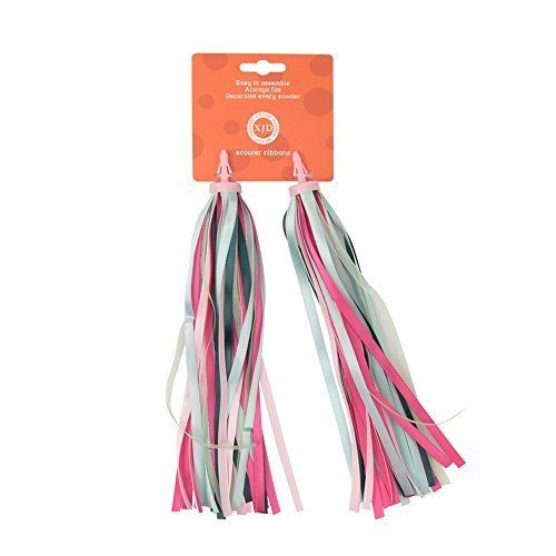Joymaster Handlebar Streamers Colorful Tassel Ribbons for Kids Children Scooter Bike/Bicycle, Easy Attachment to Cycle's Handlebars. #Joymaster #Handlebar #Streamers #Colorful #Tassel #Ribbons #Kids #Children #Scooter #Bike/Bicycle, #Easy #Attachment #Cycle's #Handlebars