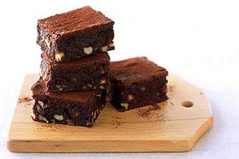 #Ricette ai semi di lino: i #brownie al cioccolato   #SemiDiLino