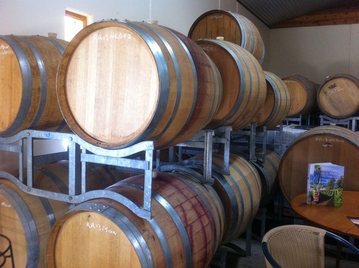 Wine tasting and private tour of the Ringer Reef winery close to Bright