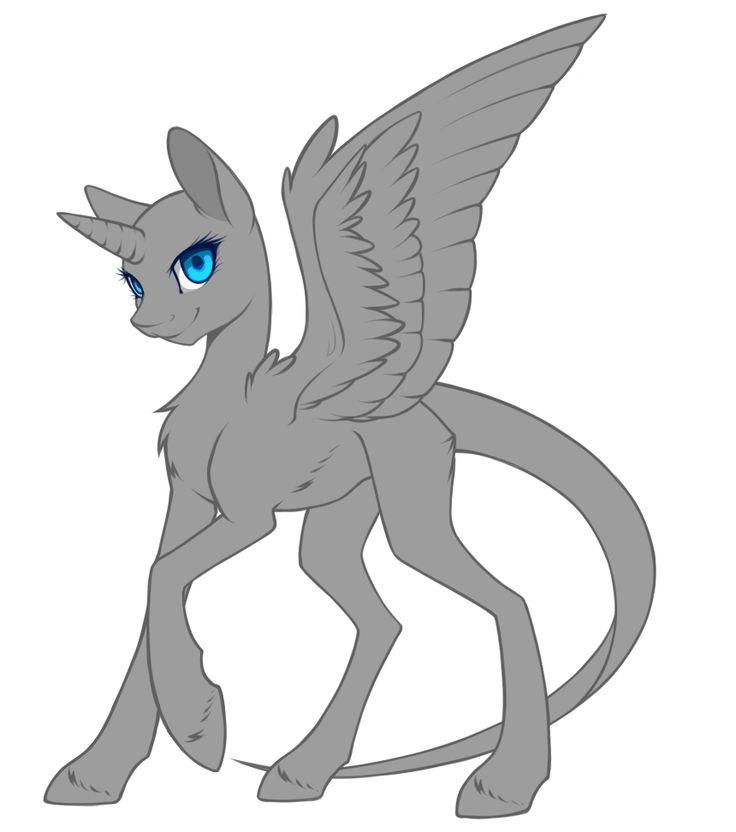 ~Female Pony Base 1 by silent-umbra.deviantart.com on @DeviantArt