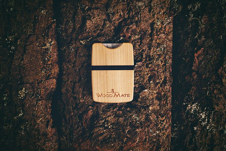 Designer wallet - 100% natural! #designer #woodwallet