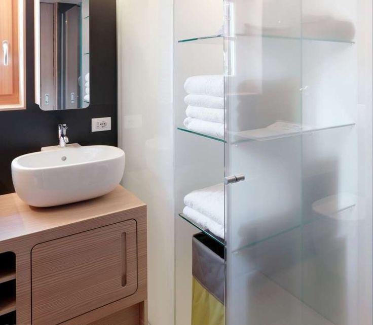 Bagno piccolo con lavatrice - Piccolo bagno con lavanderia