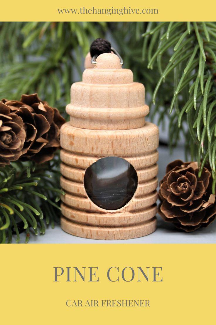 Car air freshener pine cone fragrancescent in 2020