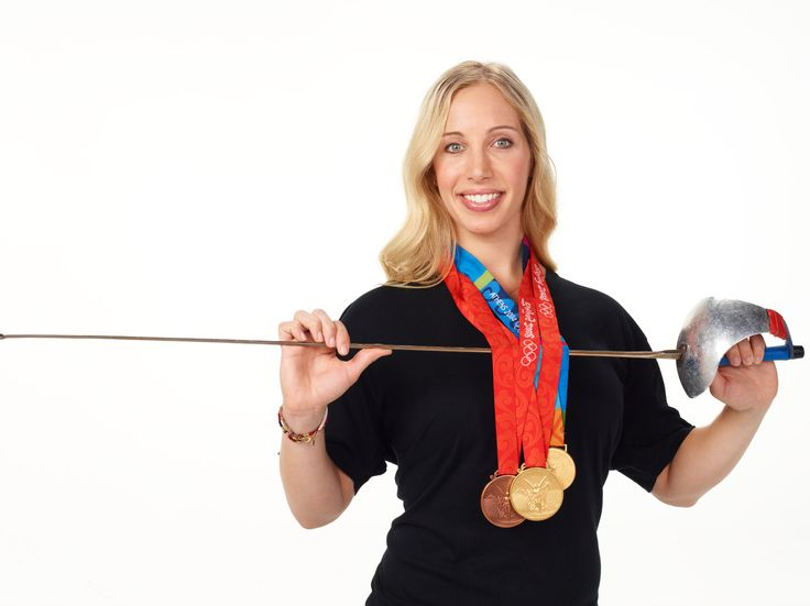 Olympic fencing champion to carry U.S. flag tonight in opening ceremonies.