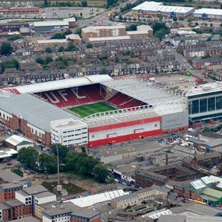 Bramall Lane (1855), Sheffield United. Home of the blades. My team !!! I work just across the road from the stadium.