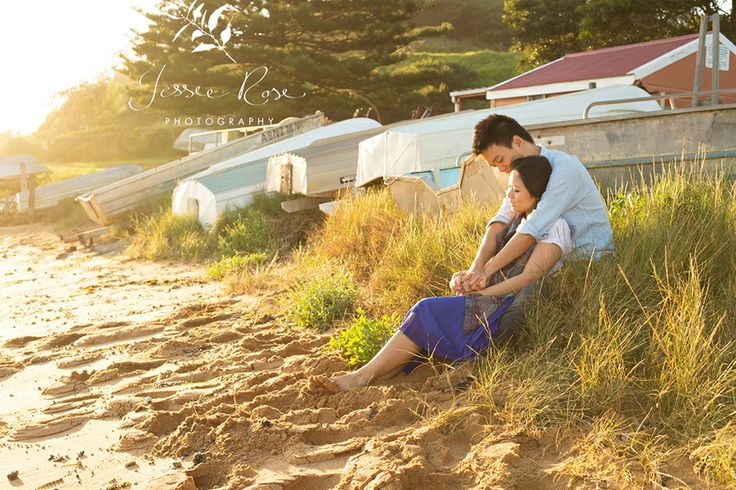 Sunrise Engagement Session with Dion & Vidi @ Jessie Rose Photography #beautifulcouple #love #esession #engagementsession #beach #sunrise #goldenhour