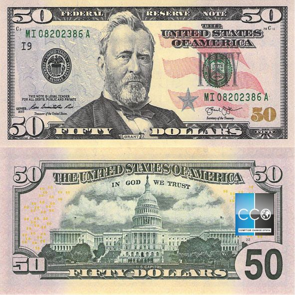 Portrait de : Président Ulysses S. Grant