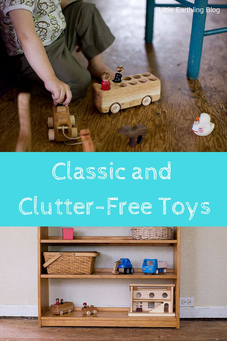 Classic toys that you and your kids with both love. Toys that will not become clutter.