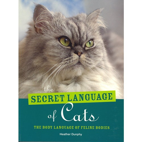 "The Secret Language of Cats Book: Cats are often thought to be solitary and hard to read, but if you know what to look for, they possess a ""secret language"" that relies on expressions, body postures, behaviors and noises. This language contains many subtle yet important nuances and is very different from human verbal communication, but it is nevertheless a language that can be learned.  http://www.calendars.com/Assorted-Cats/The-Secret-Language-of-Cats-Book/prod201300023677/"
