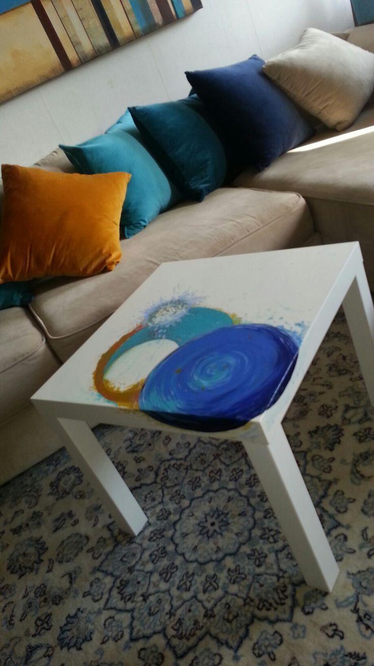 Bord med cirkel