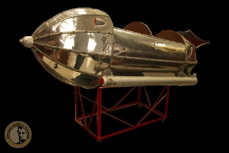 Flash Gordon Rocket Ship Possibly From An Amusement Park