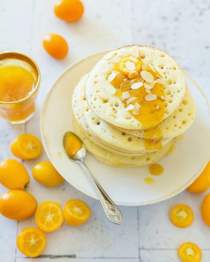 Cette année pour la chandeleur c'est Baghrirs (ou crêpes mille trous) et confiture de kumquats a la vanille. Vous connaissez les baghrirs ?