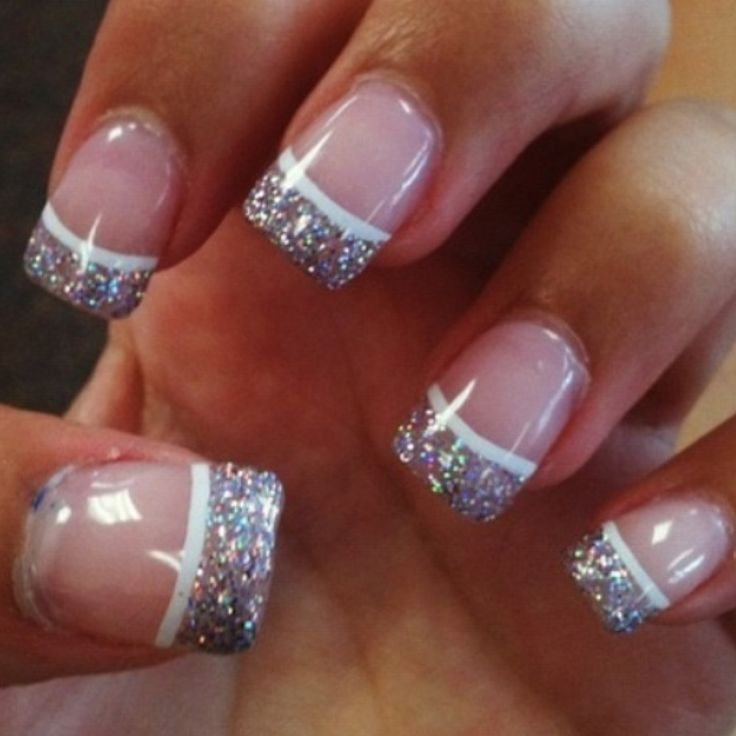 Blue Prom Nails French Tip: 1000+ Ideas About Graduation Nails On Pinterest