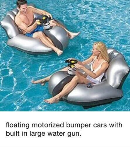 Bumper blow up floaties