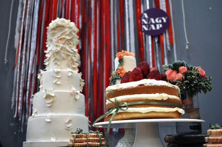 Az esküvő volt a legutóbbi WAMP témája - Esküvő Vintage A #mosolyexpressz tortái különleges színfoltjai voltak a vásárnak