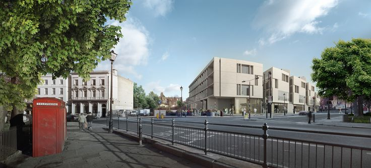 heneghan peng architects - University of Greenwich: Library and Academic Building