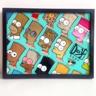 Alex May Hughes www.alexmayhughes.co.uk Gold Bart Simpsons!