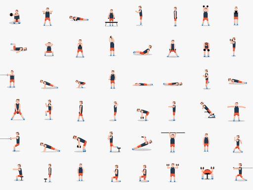 esercizi per mantenersi in forma, fitness, esercizi, workout, migliori esercizi, allenamento