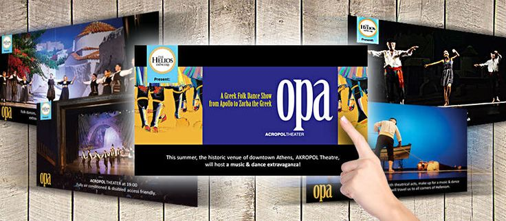 ThinkBAG created the concept and implemented the post production of the OPA SHOW's video trailer (PPV)
