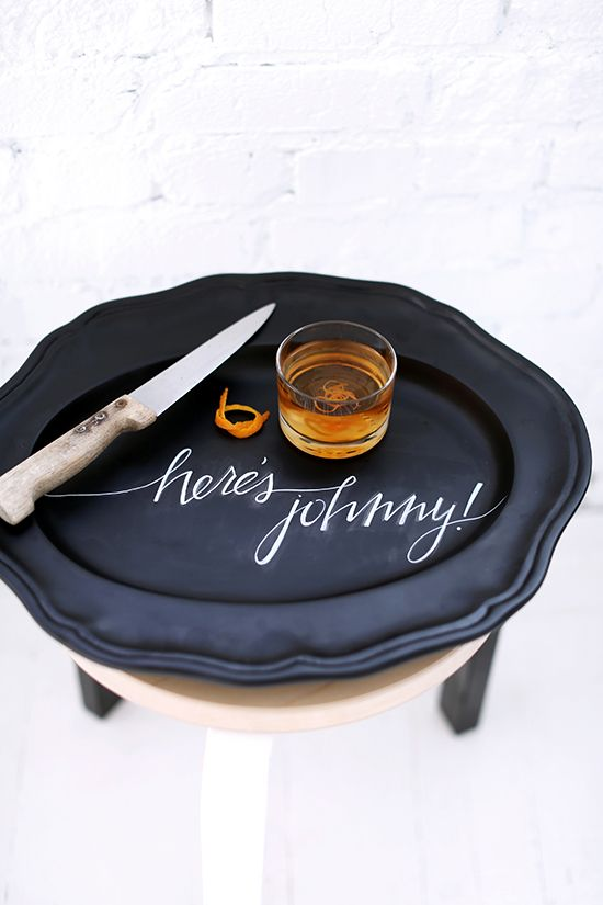 DIY Chalkboard Tray Ideas for Halloween (Plus themed phrases!)